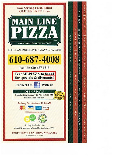 This photo shows how text message marketing can be implemented into a menu. Main Line Pizza has found great success in its 84444.com text message marketing campaign.     Get most value of the penny you spend on advertising with a fix monthly fee but unlimited text and banner advertising. Find out more at http://www.theonlineadnetwork.com/affiliates/t.php?rid=6121