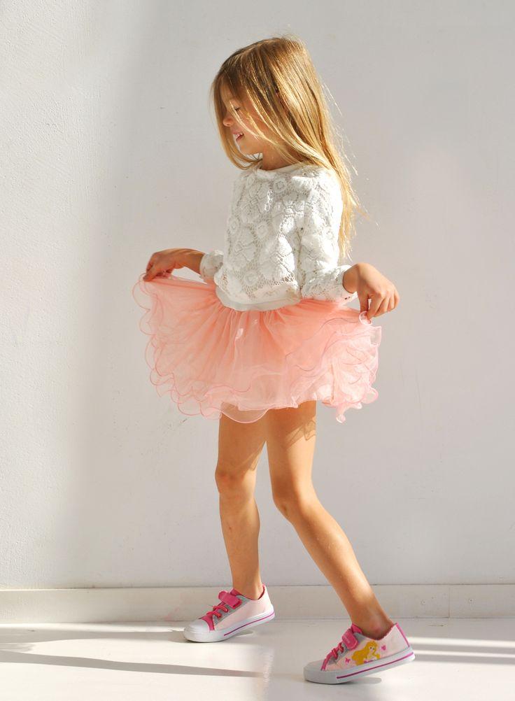 """BINKI Воздушное Платье """"Балерина"""" из Трикотажа с Розовой Юбкой #binkiru #детскаяодежда #магазиндетскойодежды"""