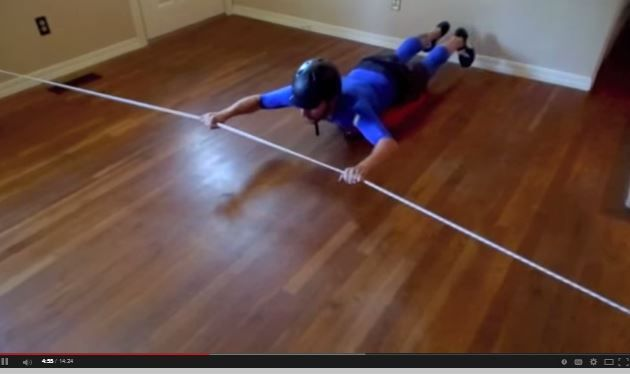 Resource of the Week: Scooter Board Bungee Exercises - pinned by @PediaStaff – Please Visit ht.ly/63sNtfor all our ped therapy, school & special ed pins