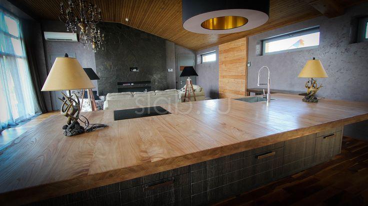 Столешница Island Столешница длякухонного острова измассива карагача— эффектное, стильное решение, которое украсит любую кухню. Подробнее здесь: http://amp.gs/TDzC #кухонныйостров #стол #столешница #кухня #гостиная #дизайнинтерьера #мебель #мебельназаказ #slab #издерева #мебельиздерева #interior #eco