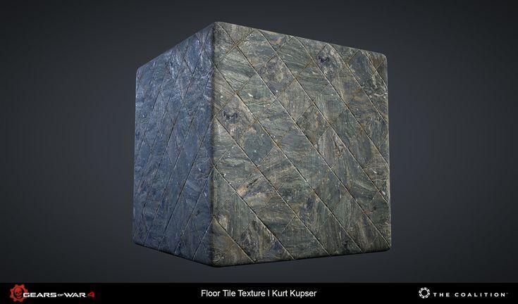 ArtStation - Gears of War 4 - Tiling Textures, Kurt Kupser