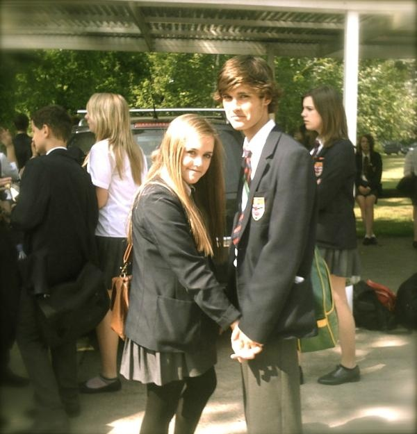 Lottie Tomlinson and Martin Kendal