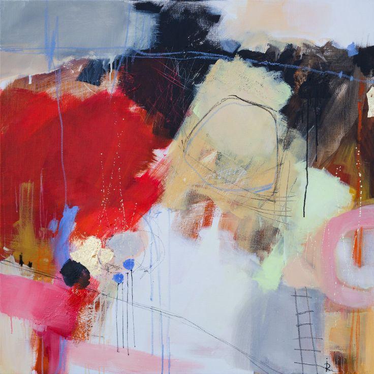 «Suggestion 13» – akryl på lerret - 100x100 cm. Kunstner - Ira Ivanova. Original - utstilt hos Galleri Fenka. Kunsttrykk A2-kr 1.200,-, A3-kr 900,-, A4-kr 600,-