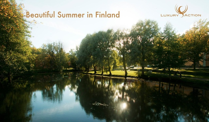 #Beautiful #summer in #Finland #Visitfinland #luxurytravel #travel #luxuryaction
