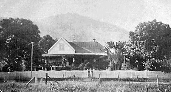 """Lilybank"" Stratford Cairns, home of AJ Draper. Stratford Heritage Trail."