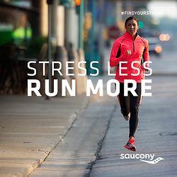 Stress less, run more.
