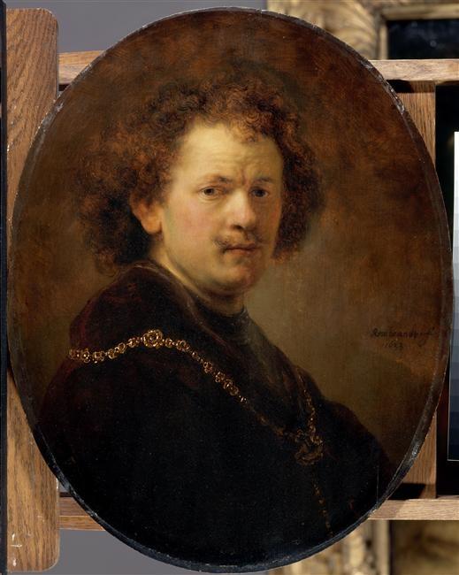Portrait de l'artiste tête nue,1633    Rembrandt Harmensz van Rijn (1606-1669)
