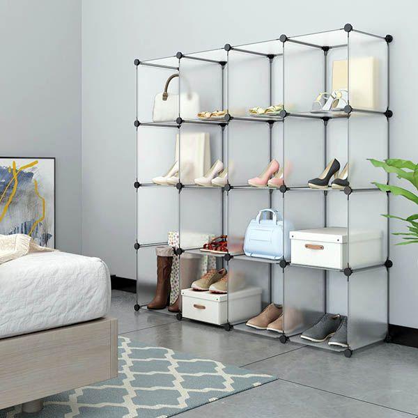 Closet Shoe Storage Ideas Racks Shelving Designs Storage Closet Organization Diy Closet Diy Closet Storage