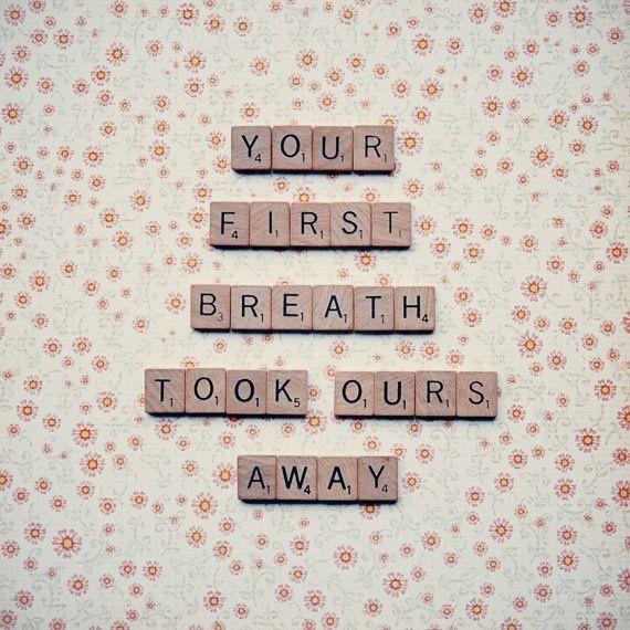 Scrabble quote photograph  nursery decor by RetroLovePhotography, $15.00