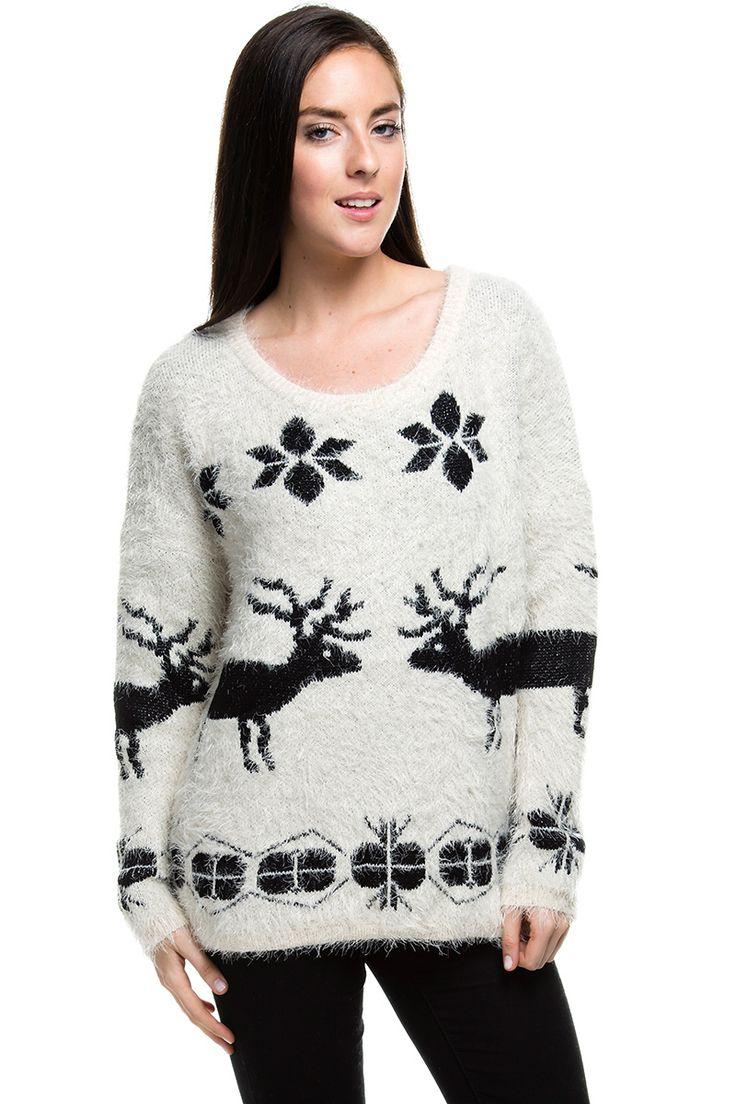 Pullover - Winter Deer