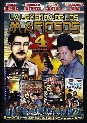 Leyenda de los Mafiosos: 4 Peliculas DVD Region 1 SPA LNG