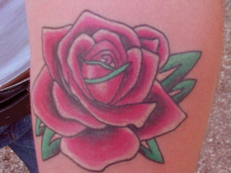 Single Rose Tattoo Designs For Men single rose tattoo designs for men ...