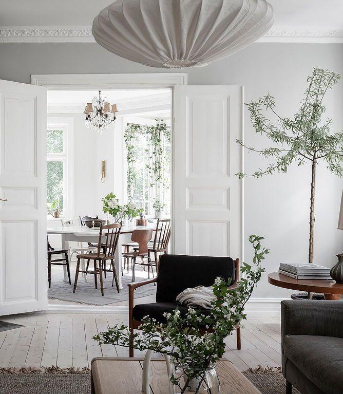 Fresh Home With A Vintage Touch Inredning Vardagsrum Bursprak