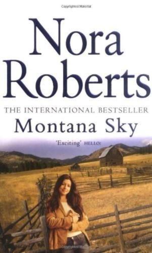 Montana-Sky-Nora-Roberts-Piatkus-Books-Good-Paperback