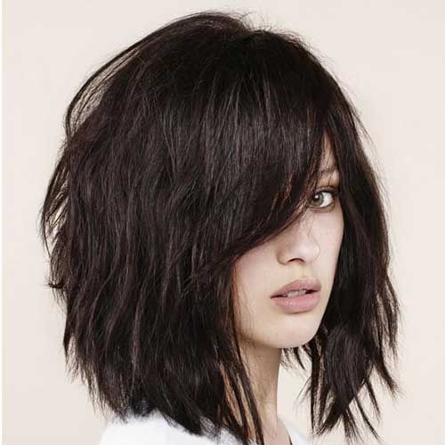 hair style of bun best 25 bobs for thick hair ideas on bob 6565