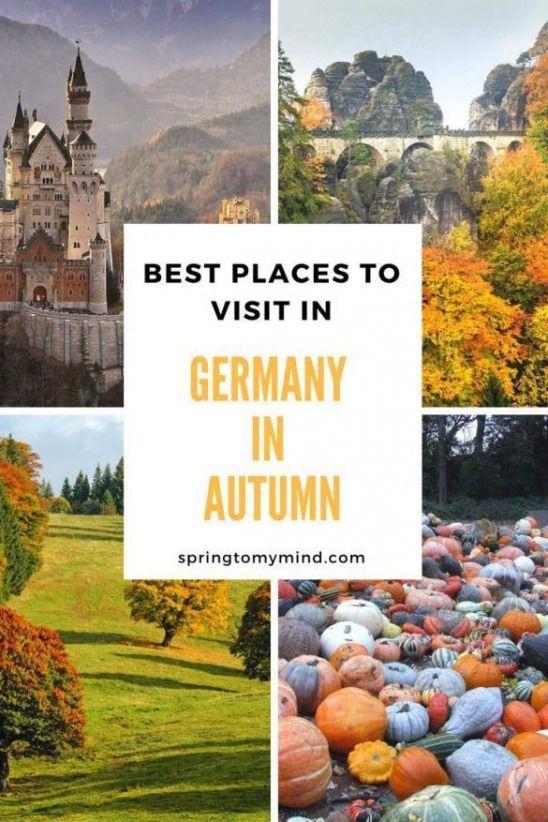 Beste Ausflugsziele in Deutschland im Herbst | Deutschland reisen im herbst | Beste deutsche …   – Germany