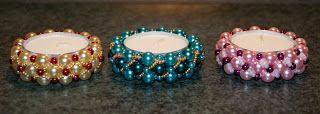 Tvoření pro radost: Vánoční svícny