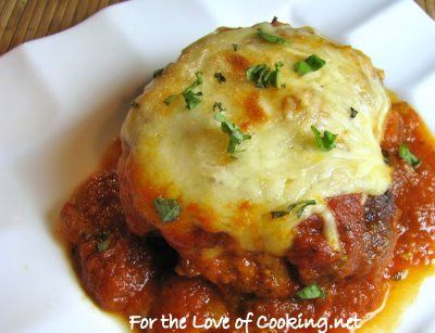 For the Love of Cooking » Chicken Parmesan