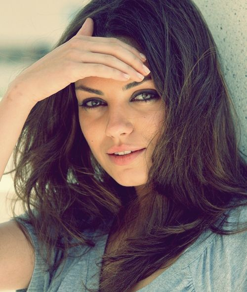 Mila Kunis.   Well known from the ''that 70's show''. Think I will never get over her;-)