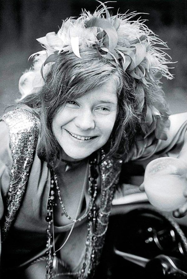 Janis Joplin, by Jim Marshall