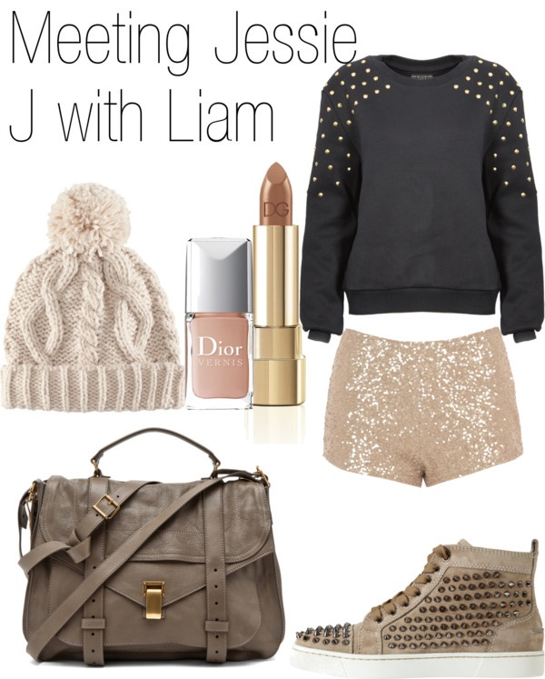 """""""Meeting Jessie J with Liam"""" by in-coco-i-trust ❤ liked on Polyvore"""