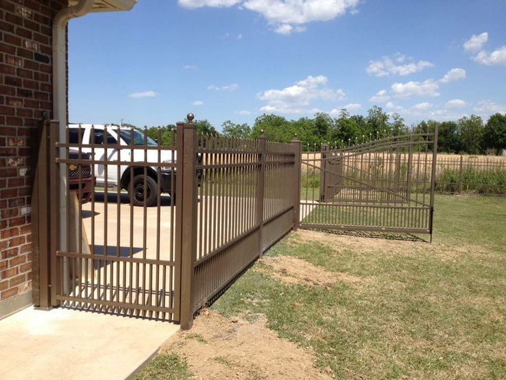 33 Best Aluminum Fence Styles Images On Pinterest