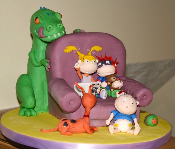 17 best images about rugrats on pinterest my childhood for Angelica cake decoration