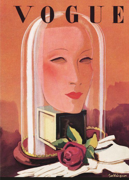 Le numéro de janvier 1935 de Vogue Paris