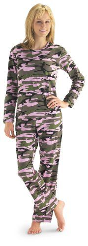 Camouflage Pajamas for Women. Camouflage is the fashion statement of the year!