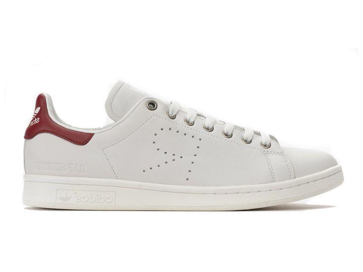 Adidas Homme/Femme Chaussures x Raf Simons Stan Smith Blanc/Rose Originals  (FR)