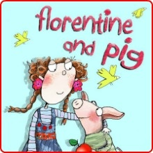 Florentine and Pig: Books Corner