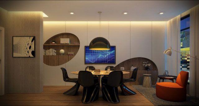 Perspectiva Home Office - http://planoeplano.com.br/imovel/brand-pensilvania