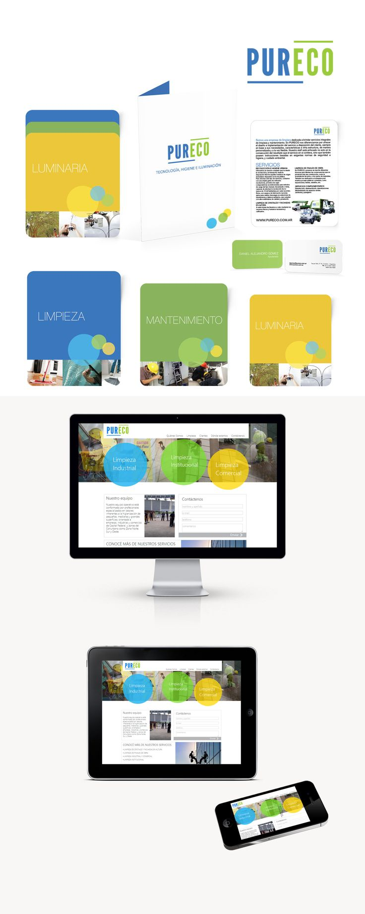 Como parte de una estrategia completa, Pureco requería para lanzar sus servicios al mercado la realización y diseño de un sitio web que sea dinámico, simple y atractivo donde sus servicios se muestren como protagonistas.