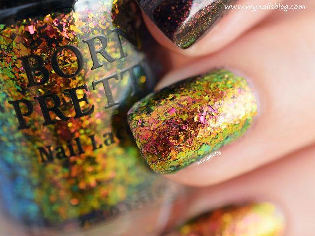 My nails blog: Born Pretty M018 Fiery Love #bornprettystore