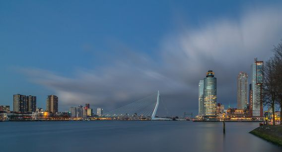 Rotterdam at the Blue Hour