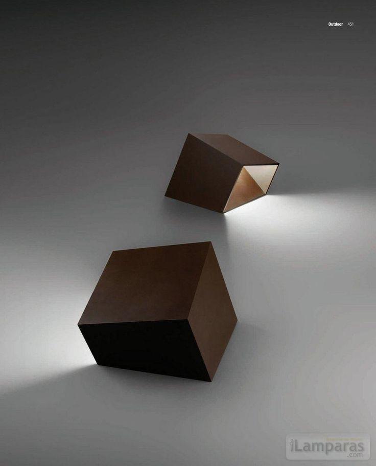 Break floor light, designed by Xucla & Alemany for Vibia