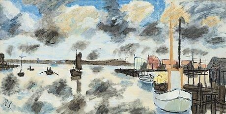 Ragnar Sandberg - Out side the fishing location