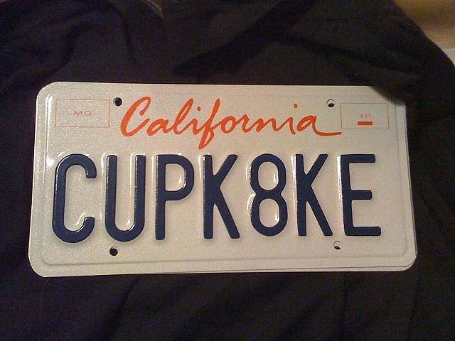 118 best personalized license plate ideas images on pinterest. Black Bedroom Furniture Sets. Home Design Ideas
