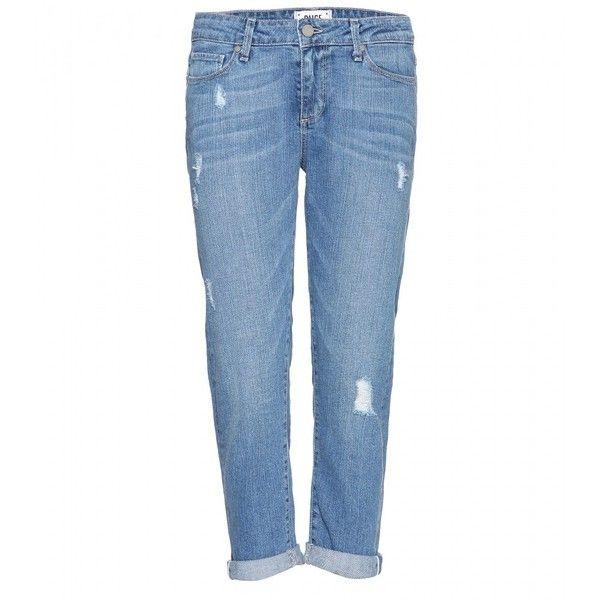 Paige Jimmy Jimmy Crop Boyfriend Jeans found on Polyvore