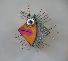 Fillet of Fish Original Found Object Wall Art by by FigJamStudio, $52.00