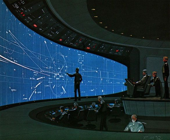 Ralph McQuarrie (PM's a lot more cramped that this. This is more like Dathusha's command deck.)