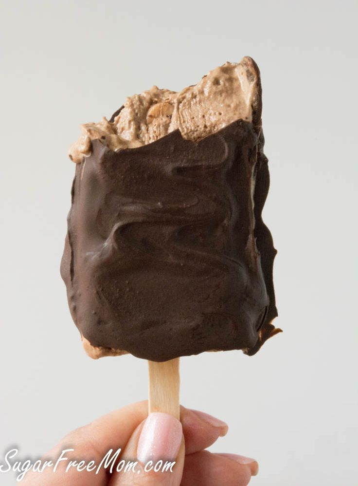 Sugar Free Double Chooclate Peanut Butter popsicles