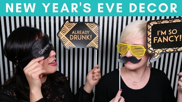 NEW YEAR'S EVE PARTY DECOR + DIYS | Glitter & Gold Collab with THE DOMES...