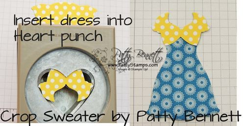 "how to alter Dress Up framelits - ""daisy duke"" crop top"