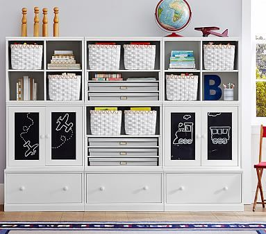 Cameron Creativity Art Storage System with Drawer Bases #pbkids