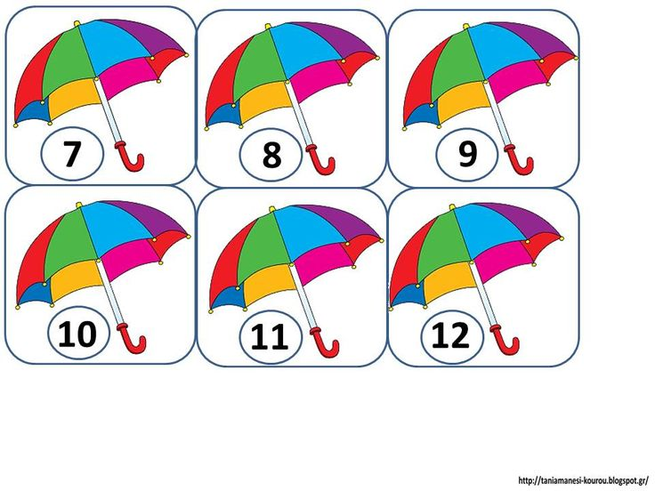 Δραστηριότητες, παιδαγωγικό και εποπτικό υλικό για το Νηπιαγωγείο & το Δημοτικό: Μαθηματικά Παιχνίδια με Ομπρέλες: 10 χρήσιμες…