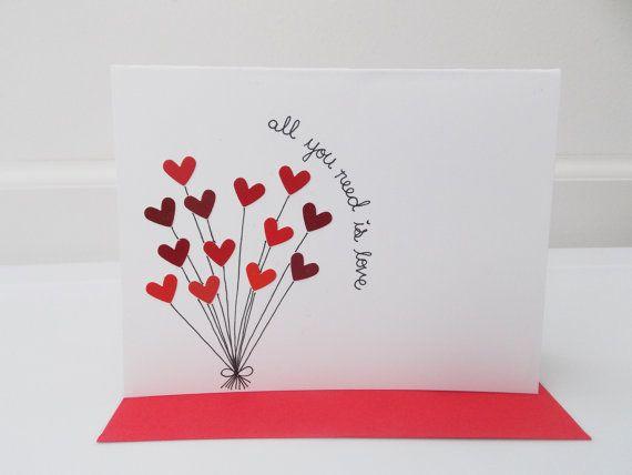 Anniversary card personalized card greeting card custom card