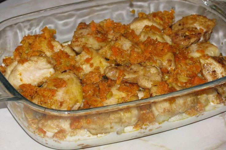 Фрикасе из курицы рецепт с фото пошагово