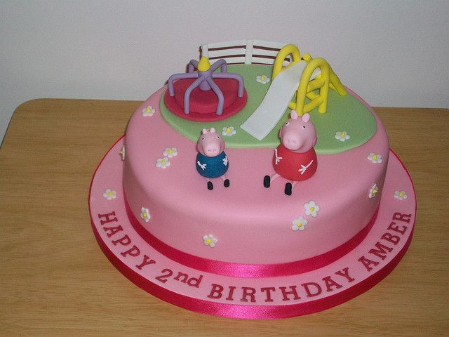 Peppa pig and George playground cake | Flickr - Photo Sharing!