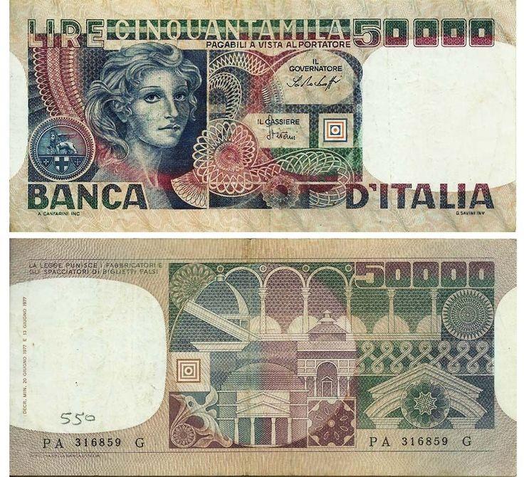 Italy 50000 Lire 1982